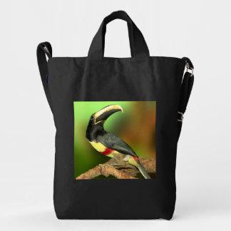 Color del phull de la foto de Toco Toucan Bolsa De Lona Duck