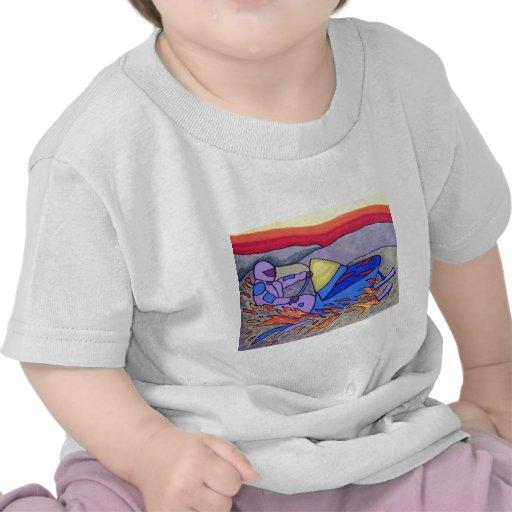 Color del Snowmobile 01 por Piliero Camisetas