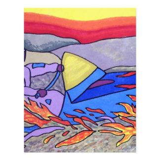 Color del Snowmobile 01 por Piliero Tarjetones