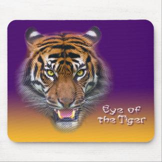 Color del tigre alfombrilla de raton