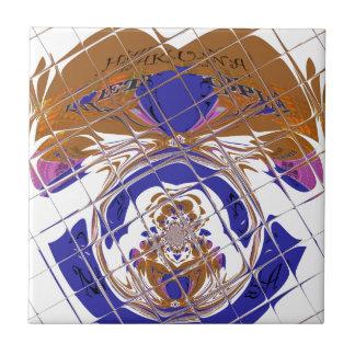 Color design.png de Etiopía del amor de Hakuna Azulejo Cuadrado Pequeño