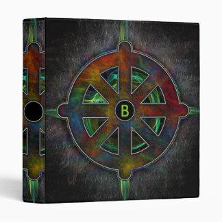 Color Dharma Wheel of Energy Binder