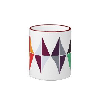 color_diamond cup coffee mug