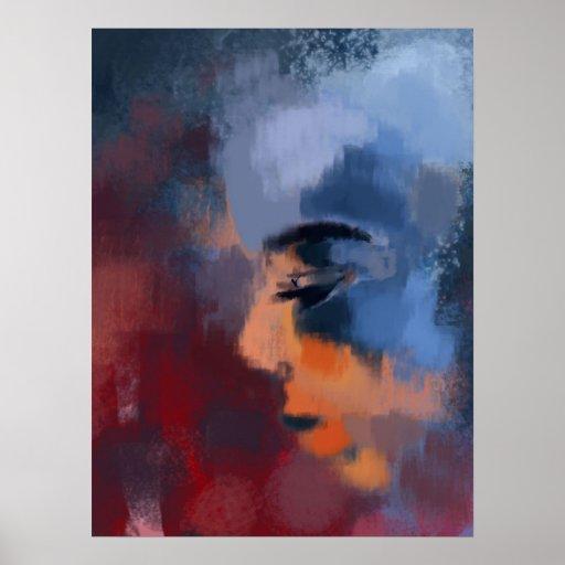 Color digital 2400x3000 de Zocran Póster