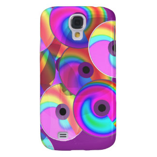 Color Disks Galaxy S4 Covers