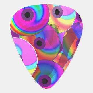 Color Disks Guitar Pick