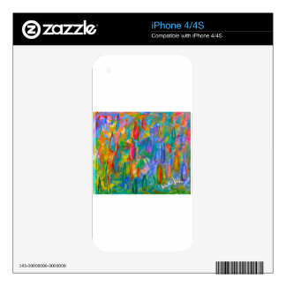 Color Drops Skin For The iPhone 4S