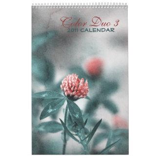 Color Duo 3 - 2011 calendar