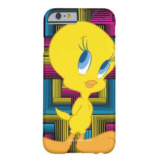 Color electrónico de Tweety Funda Barely There iPhone 6