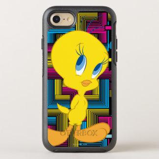 Color electrónico de Tweety Funda OtterBox Symmetry Para iPhone 7