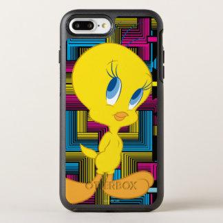 Color electrónico de Tweety Funda OtterBox Symmetry Para iPhone 7 Plus