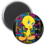Color electrónico de Tweety Imán Redondo 5 Cm