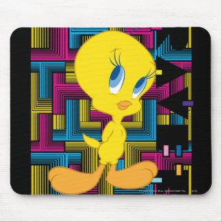 Color electrónico de Tweety Tapete De Ratones