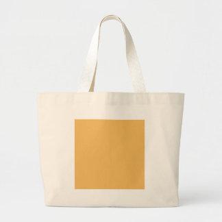 Color elegante de la moda del amarillo anaranjado  bolsas