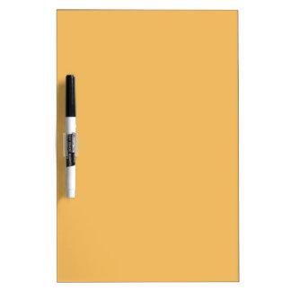 Color elegante de la moda del amarillo anaranjado  pizarras blancas de calidad