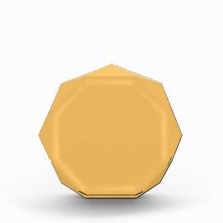 Color elegante de la moda del amarillo anaranjado