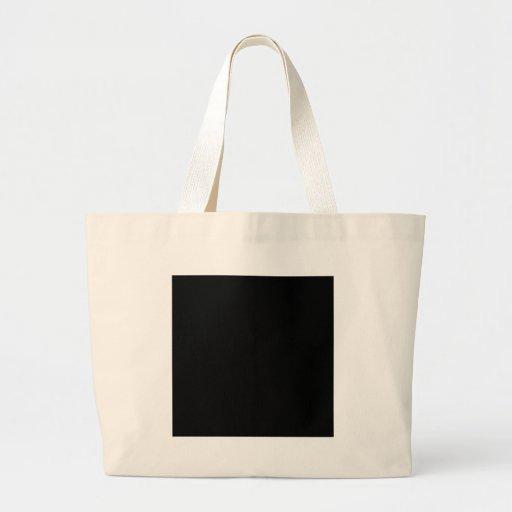 Color elegante negro de la moda bolsas
