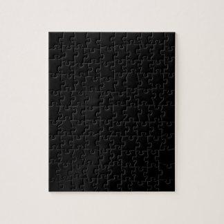 Color elegante negro de la moda rompecabeza con fotos