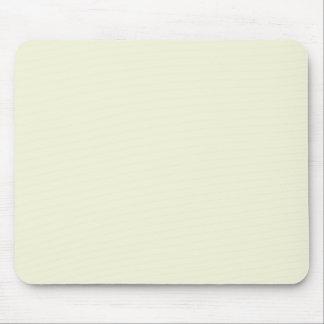 Color elegante poner crema beige de la moda mousepad