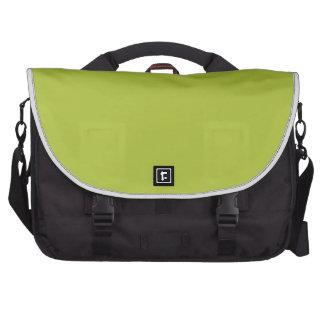 Color elegante verde ácido de la moda bolsas de ordenador