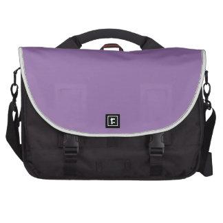 Color elegante violeta de la moda del Bellflower Bolsas De Portátil