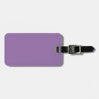 Color elegante violeta de la moda del Bellflower Etiqueta Para Maleta