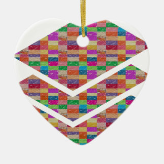 Color ENERGY Checks : GREETINGS GIFTS lowprice Christmas Tree Ornament