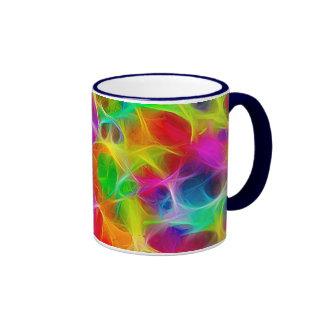 Color estático tazas