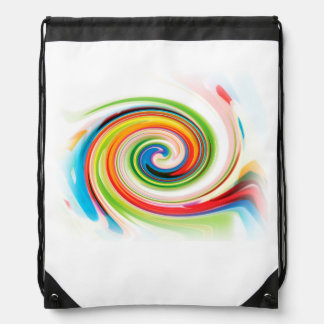 Color Experiment Drawstring Backpack