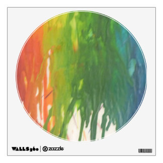 Color explosion #1 wall decals
