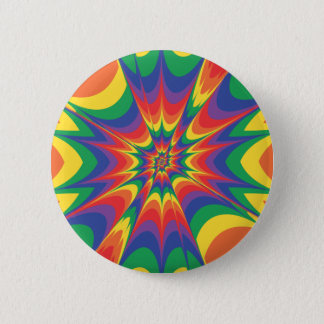Color Explosion: Abstract Art: Button