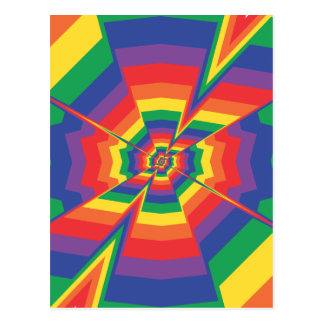 Color Explosion: Abstract Art: Postcard