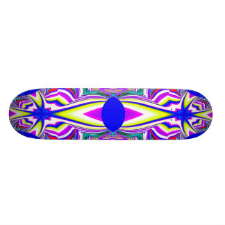 Color Explosion Abstract Skateboard