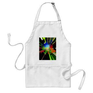 Color explosion adult apron