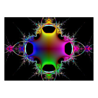 Color Explosion Art Card Large Business Cards (Pack Of 100)