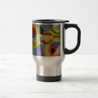 Color Explosion by Robert Delaunay Travel Mug