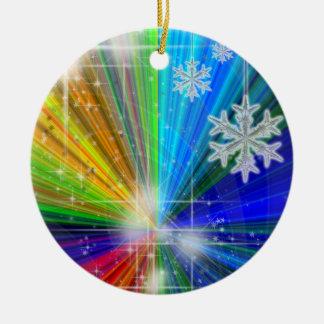 Color Explosion Customized Ceramic Ornament