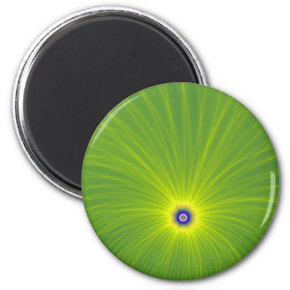 Color Explosion in Green and Yellow Magnet
