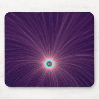 Color Explosion in Purple Mousepad