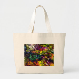 Color Explosion Large Tote Bag