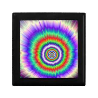 Color Explosion Tie-dye Jewelry Box