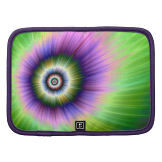 Color Explosion Tie-dyed Folio Mini Folio Planners