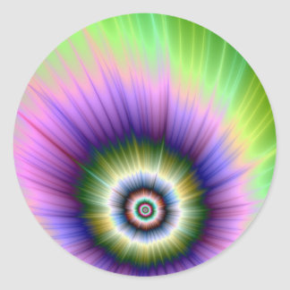Color Explosion Tie-dyed Sticker