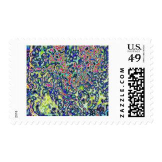 Color Expolsion Stamp