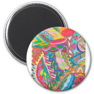 COLOR EYE CANDY COLLECTION 105 2 INCH ROUND MAGNET