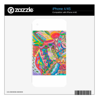 COLOR EYE CANDY COLLECTION 105 SKINS FOR iPhone 4