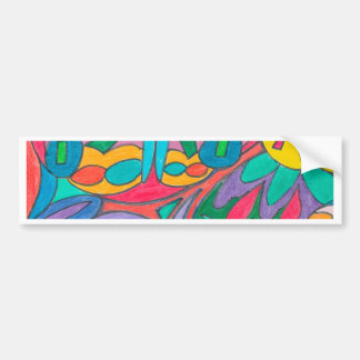 COLOR EYE CANDY COLLECTION 107 BUMPER STICKER