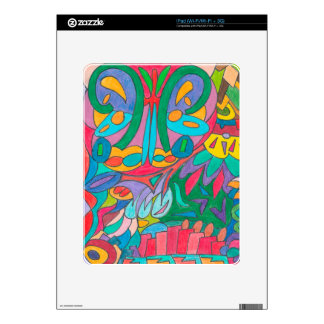 COLOR EYE CANDY COLLECTION 107 DECALS FOR THE iPad