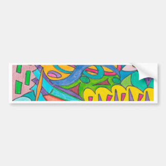 COLOR EYE CANDY COLLECTION 108 BUMPER STICKER
