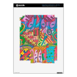 COLOR EYE CANDY COLLECTION 110 iPad 3 SKINS